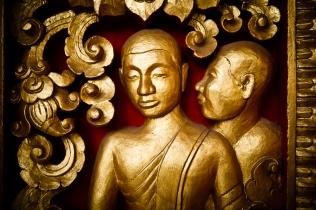 Gold, Luang Prabang, Laos
