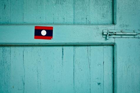 Flag, Savannakhet, Vietnam