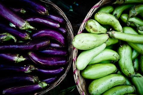 Aubergines, Can Tho, Vietnam