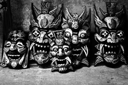 Masks, Hong Kong