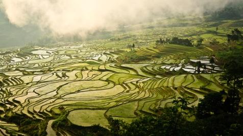 Yuanyang, Yunnan province, China